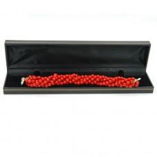 Natural Angel Skin Coral Bracelet