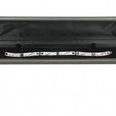 Tiffany Art Deco Sapphire Diamond Bracelet