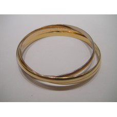 Vintage Cartier Tri-color Bangle Bracelet
