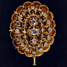 Victorian Gold Pin