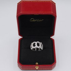 Cartier Paris White Gold Diamond Ring
