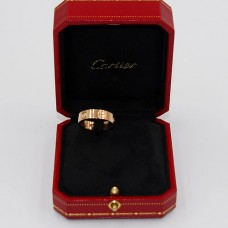 Cartier 18kt Gold Diamond Love Ring
