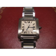 Cartier Stainless Steel Paris Tank Franchise Automatic Watch
